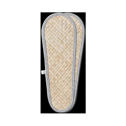 竹蓆室內拖鞋墊 (2對)