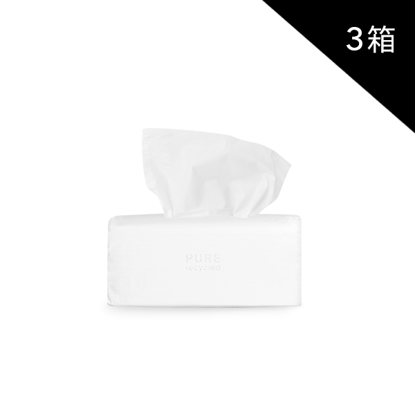 [長期訂購] Pure Recycled 環保衛生紙 (110抽 60包)*3箱