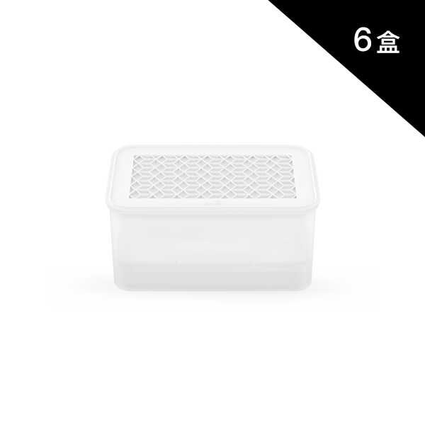 新式裸白克潮靈(6盒)