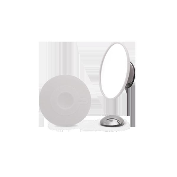 磁性勾掛 輕巧拆卸式化妝鏡