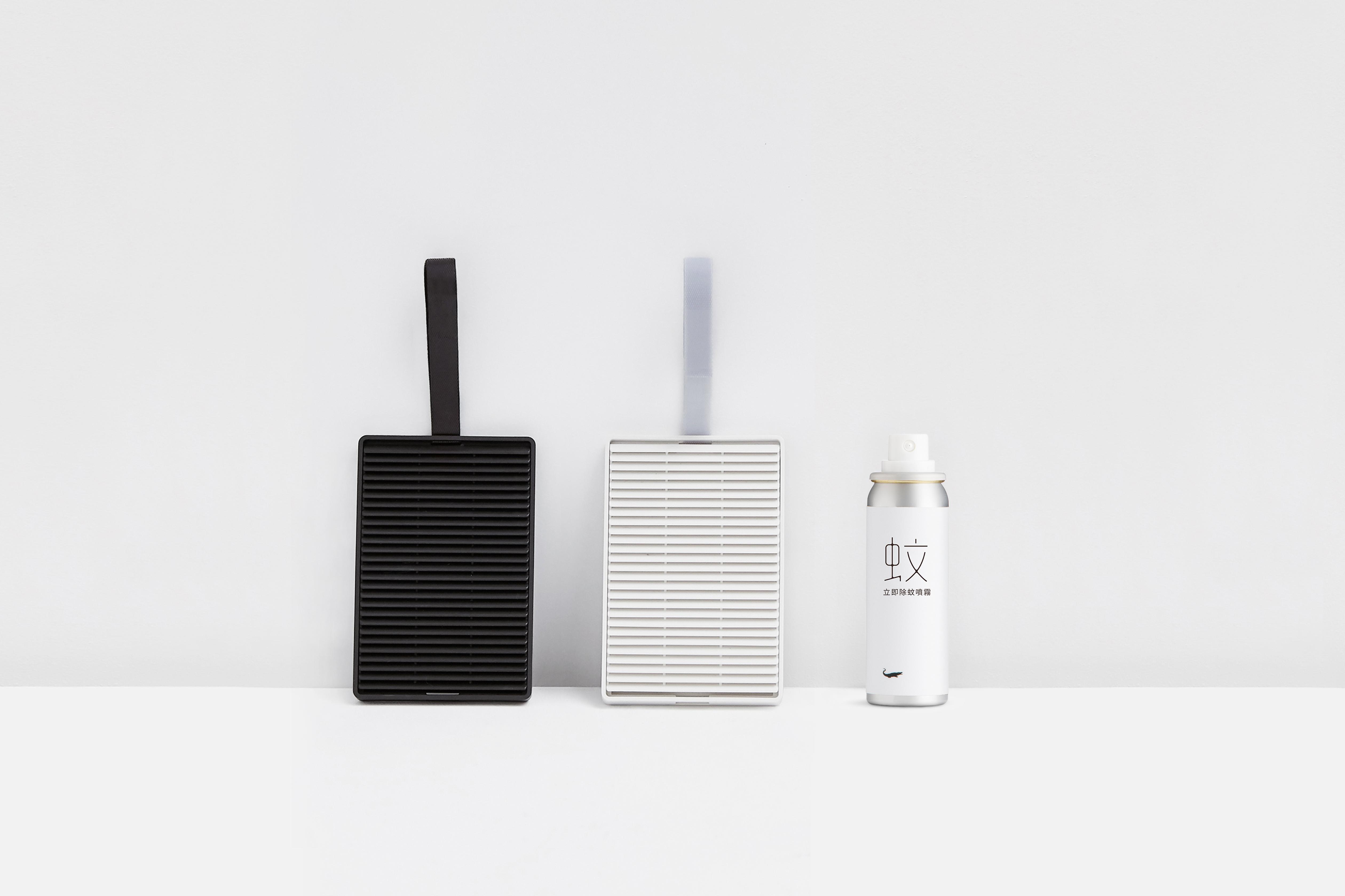 【防蚊A組】 1黑1白防蚊卡匣+防蚊噴霧