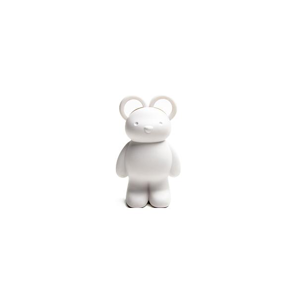 泰迪小熊-剪刀組 (白)