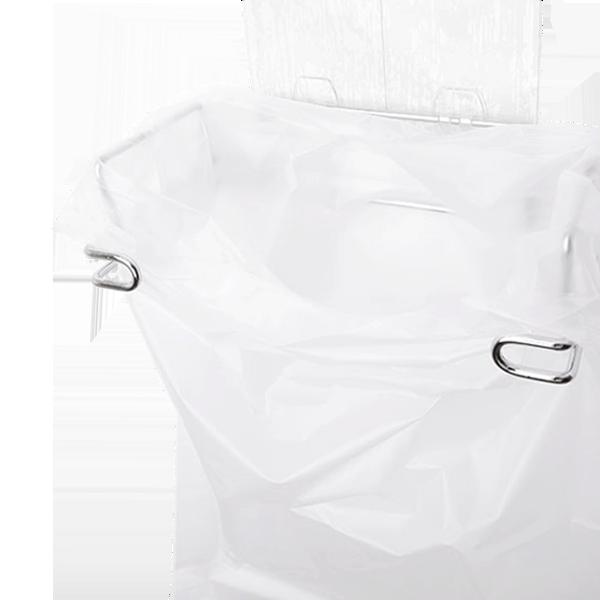 STEEL│304不鏽鋼收納 / 垃圾廚餘全尺寸袋子收納架