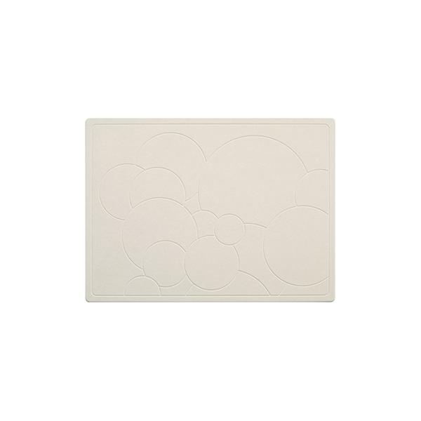 主婦推薦 吸水速乾除臭抑菌|奈米珪藻土浴室地墊 (泡泡紋)