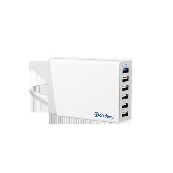 QC2.0 AI-Charger 6+ 智能充電器