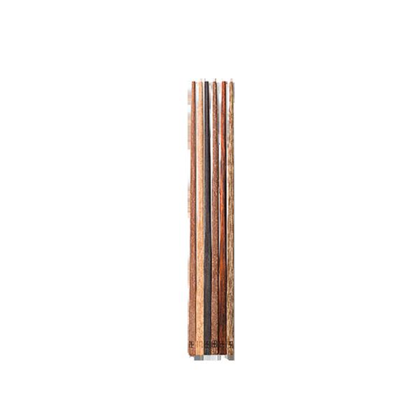 六種原木 隨搭成雙|原木筷子組 (6支)