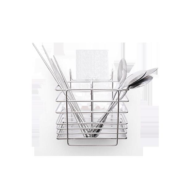STEEL│304不鏽鋼餐具架