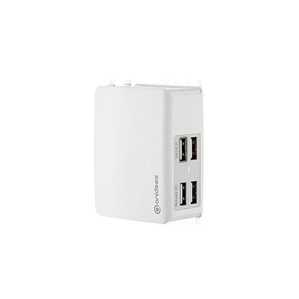 QC2.0 AI-Charger 4+ 摺疊頭 USB充電器