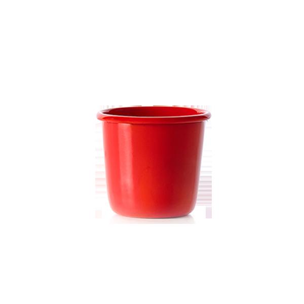 杯子重心下移 搖身一變成為不倒翁|厝內琺瑯杯